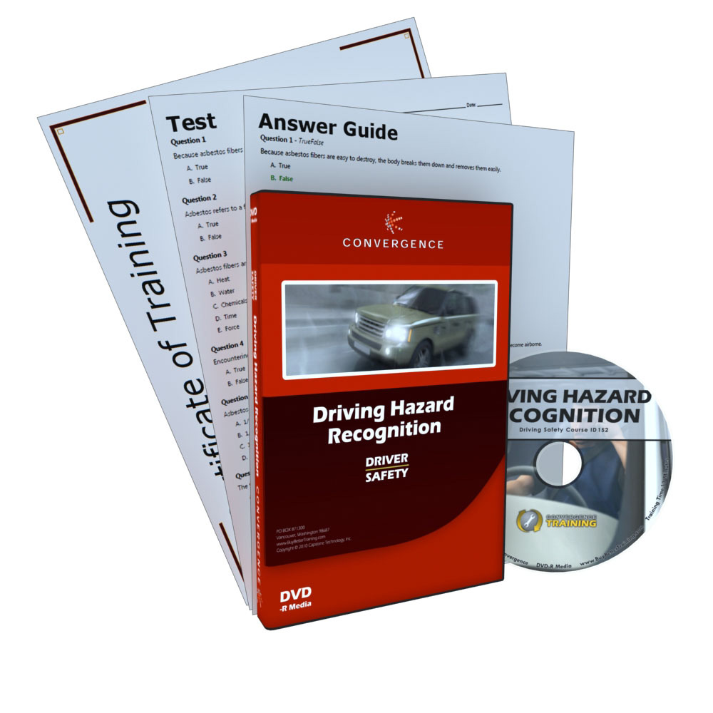 Driver Hazard Recognition DVD