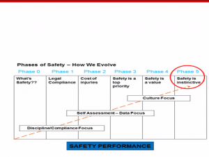 Building a world class safety culture